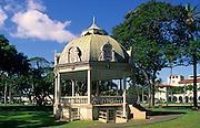 Bandstand, Iolani Palace, Honolulu, Oahu, Hawaii USA<br />