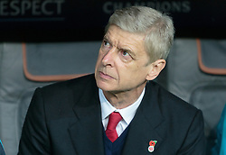 04.11.2015, Allianz Arena, Muenchen, GER, UEFA CL, FC Bayern Muenchen vs FC Arsenal, Gruppe F, im Bild Trainer Arsene Wenger (FC Arsenal) // during the UEFA Champions League group F match between FC Bayern Munich and FC Arsenal at the Allianz Arena in Munich, Germany on 2015/11/04. EXPA Pictures © 2015, PhotoCredit: EXPA/ JFK