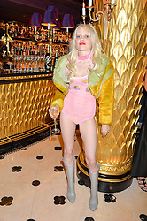 SCARLETT CARLOS CLARKE at a party to celebrate Pam Hogg receiving an honorary Doctorate from Glasgow University held at Park Chinois, 17 Berkeley Street, London on 11th July 2016.
