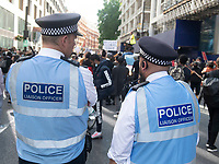 Imarn Ayton Black Lives Matter peaceful protesters march through londn to parliament square  London 20 june 2020 photo by Brian Jordan