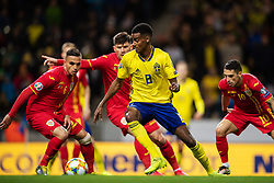 March 23, 2019 - Stockholm, SWEDEN - 190323 Alexander Isak of Sweden during the UEFA Euro Qualifier football match between Sweden and Romania on March 23, 2019 in Stockholm..Photo: Joel Marklund / BILDBYRÃ…N / kod JM / 87914 (Credit Image: © Joel Marklund/Bildbyran via ZUMA Press)