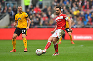 Bailey Wright (5) of Bristol City during the The FA Cup 5th round match between Bristol City and Wolverhampton Wanderers at Ashton Gate, Bristol, England on 17 February 2019.