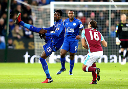 Daniel Amartey of Leicester City hooks the ball - Mandatory by-line: Robbie Stephenson/JMP - 31/12/2016 - FOOTBALL - King Power Stadium - Leicester, England - Leicester City v West Ham United - Premier League