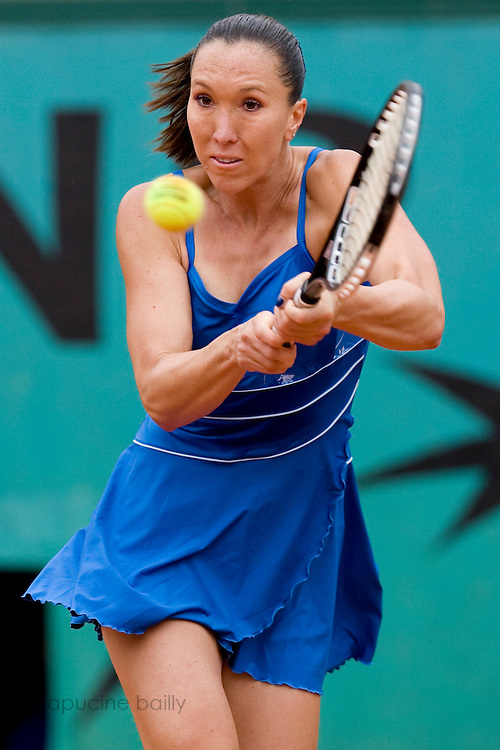 Paris, France. May 28th 2009. .Roland Garros - Tennis French Open. 2nd Round..Serbian player Jelena Jankovic against Magdalena Rybarikova..
