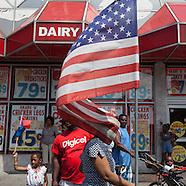 NY433A  Haiti parade