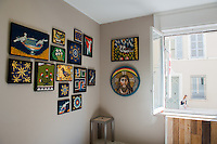Inside the studio of Ravenna mosaic artists