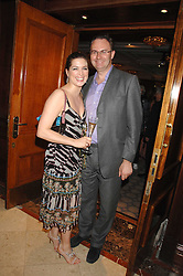 WILLIAM CASH and VANESSA NEUMANN at a party to celebrate the 180th Anniversary of The Spectator magazine, held at the Hyatt Regency London - The Churchill, 30 Portman Square, London on 7th May 2008.<br /><br />NON EXCLUSIVE - WORLD RIGHTS