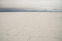 The stunning patterns of the worlds largest salt flats - salar de uyuni, Bolivia.