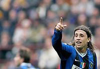 "Hernan Crespo (Inter) <br /> Italian ""Serie A"" 2006-2007<br /> 1 Apr 2007 (Match Day 30)<br /> Inter-Parma (2-0)<br /> ""Giuseppe Meazza"" Stadium-Milano-Italy<br /> Photographer:Jennifer Lorenzini INSIDE"