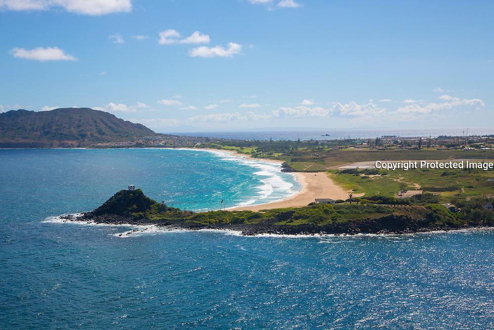 North Beach, Kaneohe Marine Corps Station, Oahu, Hawaii
