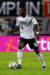 November 16, 2018 - Leipzig, Germany - Antonio Rudiger of Germany in action during the international friendly match between Germany and Russia on November 15, 2018 at Red Bull Arena in Leipzig, Germany. (Credit Image: © Mike Kireev/NurPhoto via ZUMA Press)