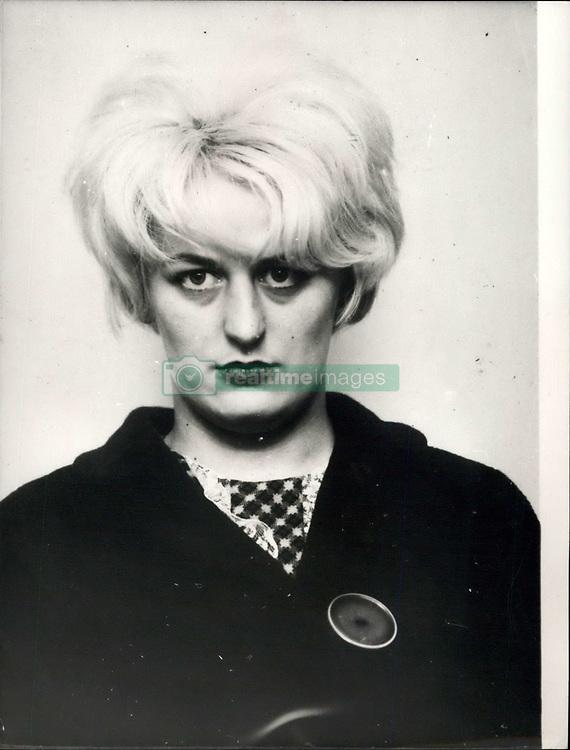 May 06, 1966 - Moors murder trial.: Ian Brady and Hindley found guilty. Photo shows Myra Hindley. (Credit Image: © Keystone Press Agency/Keystone USA via ZUMAPRESS.com)