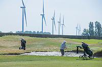 BRIELLE -  windmolens, hole 10. Kleiburg , golfbaan.  COPYRIGHT KOEN SUYK