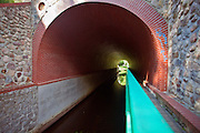 Fojutowo 2011-7-05. W Fojutowie w pobliżu Czerska na południowym skraju Borów Tucholskich znajduje się akwedukt będący skrzyżowaniem dwóch cieków wodnych: Wielkiego Kanału Brdy - płynącego górą i płynącej dołem Czerskiej Strugi. Akwedukt jest jedną z największych atrakcji turystycznych Borów Tucholskich.