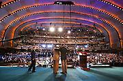 Reggie Bush and Paul Tagliabue -- NFL Draft -- Radio City Music Hall, New York, NY
