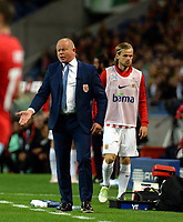 BILDET INNGÅR IKEK I FASTAVTALER. ALL NEDLASTING BLIR FAKTURERT.<br /> <br /> Fotball<br /> Portugal v Norge<br /> Foto: imago/Digitalsport<br /> NORWAY ONLY<br /> <br /> PORTO, May 29, 2016 -- Norway s head coach Per-Mathias Høgmo reacts during a friendly soccer match between Portugal and Norway in preparation for Euro 2016, EM-Testspiel, Nationalteam Länderspiel at Dragon Stadium in Porto, Portugal, May 29, 2016. Portugal won 3-0.<br /> Iver Fossum