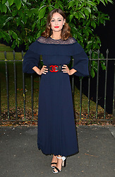 Ella Purnell attending the Serpentine Summer Party 2017, presented by the Serpentine and Chanel, held at the Serpentine Galleries Pavilion, in Kensington Gardens, London.