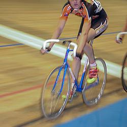 ALKMAAR (NED) wielrennen<br />NK Baanwielrennen ; mannen 2004,; Klassement; Niels Pieters