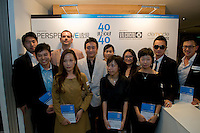 The laureates of the 40 Under 40 Perspective awards for Architecture/Interior Design.