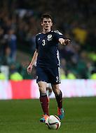 Scotland's Andrew Robertson in action<br /> <br /> - International Friendly - Scotland vs England- Celtic Park - Glasgow - Scotland - 18th November 2014  - Picture David Klein/Sportimage