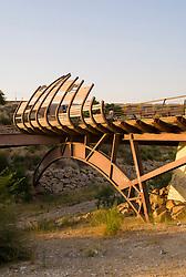 Pasarela peatonal en Petrer. Carme Pinos Architect