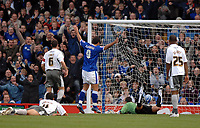Photo: Ashley Pickering/Sportsbeat Images.<br /> Ipswich Town v Bristol City. Coca Cola Championship. 10/11/2007.<br /> Jonathan Walters' shot (out of frame) beats Bristol goalie Adriano Basso to open the scoring for Ipswich