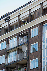 OCT 04 2012 Fire at the apartment of the singer Duffy