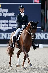 Knappe Maren, NOR, Skoglys Rihanna<br /> Longines FEI/WBFSH World Breeding Dressage Championships for Young Horses - Ermelo 2017<br /> © Hippo Foto - Dirk Caremans<br /> 04/08/2017
