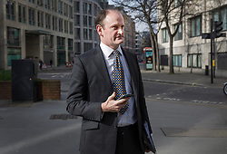 © Licensed to London News Pictures. 28/02/2017. London, UK. UKIP MP Douglas Carswell is spotted in the City of London at lunch time. He is facing increasing pressure to leave the party after criticism from former leader Nigel Farage, donor Arron Banks and other party members.  Photo credit: Peter Macdiarmid/LNP