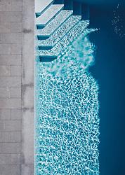 THEMENBILD - ein Swimmingpool, aufgenommen am 25. Juni 2019 in Kaprun, Österreich // a swimming pool, Kaprun, Austria on 2019/06/25. EXPA Pictures © 2019, PhotoCredit: EXPA/ JFK