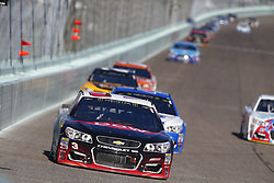 November 19, 2017 - Homestead, Florida, United States of America - November 19, 2017 - Homestead, Florida, USA: Austin Dillon (3) battles for position during the Ford EcoBoost 400 at Homestead-Miami Speedway in Homestead, Florida. (Credit Image: © Justin R. Noe Asp Inc/ASP via ZUMA Wire)