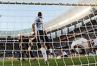 Fotball<br /> VM 2010<br /> Tyskland v Argentina<br /> 03.07.2010<br /> Foto: Witters/Digitalsport<br /> NORWAY ONLY<br /> <br /> 0:3 Tor Arne Friedrich (Deutschland), Martin Demichelis<br /> Fussball WM 2010 in Suedafrika, Viertelfinale Argentinien - Deutschland