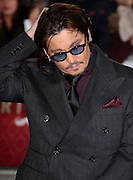 Jan 19, 2015 -'Mortdecai' - UK Premiere - Red Carpet Arrivals at Empire,  Leicester Square, London<br /> <br /> Pictured: Johnny Depp<br /> ©Exclusivepix Media