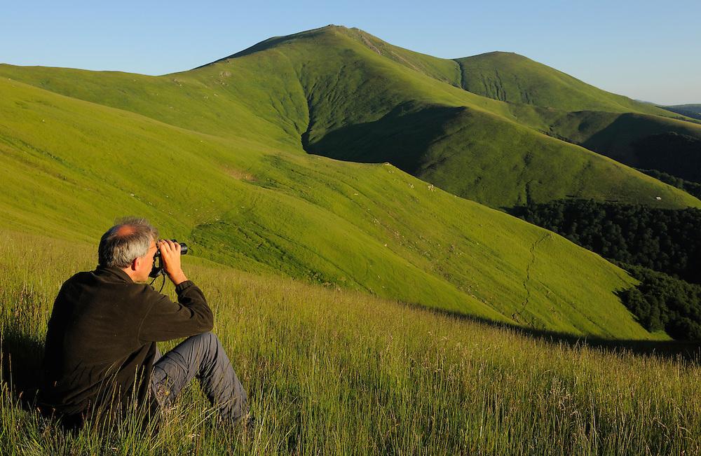 Wouter Helmer, ARK foundation, Alpine grasslands in the Tarku mountains Natura 2000 site, Southern Carpathians, Romania, Rewilding Europe site