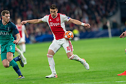 08-05-2019 NED: Semi Final Champions League AFC Ajax - Tottenham Hotspur, Amsterdam<br /> After a dramatic ending, Ajax has not been able to reach the final of the Champions League. In the final second Tottenham Hotspur scored 3-2 / Dusan Tadic #10 of Ajax