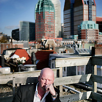 Nederland,Den Haag ,27 oktober 2008.Politiek journalist voor RTL Frits Wester.