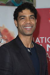 © Licensed to London News Pictures. 26/01/2015. London, England. Cuban-born dancer Carlos Acosta wins the De Valois Award for Outstanding Achievement. The Critic's Circle National Dance Awards 2014 take place at The Place in London, UK. Photo credit: Bettina Strenske/LNP