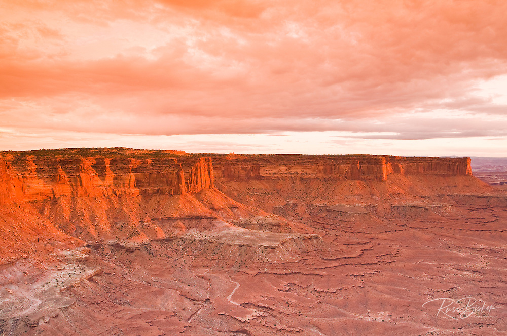 The White Rim from Green River Overlook, Island in the Sky, Canyonlands National Park, Utah