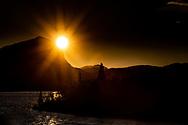 VILDMARKSVÄGEN JULI 2020<br /> Solnedgång över Marsfjällen med vy från Saxnäsgården under helgens tur efter Vildmarksvägen.<br /> Foto: Per Danielsson/Projekt.P