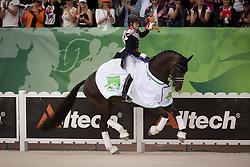 Charlotte Dujardin, (GBR), Valegro - Dressage Kur to Music- Alltech FEI World Equestrian Games™ 2014 - Normandy, France.<br /> © Hippo Foto Team - Dirk Caremans<br /> 25/06/14
