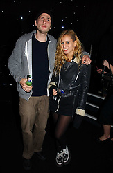 JOLEON PRESSEY and ALICE DELLAL at the launch of he LG 'Shine' Black Label Series mobile phone held at Cirque, Leicester Square, London W1 on 7th February 2007.<br /><br />NON EXCLUSIVE - WORLD RIGHTS
