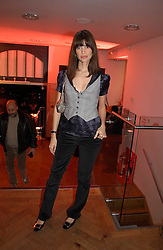LISA B at the 6th annual Lancome Colour Design Awards in association with CLIC Sargent Cancer Care held at Lindley Hall, Victoria, London on 28th November 2006.<br /><br />NON EXCLUSIVE - WORLD RIGHTS