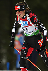 15.01.2011, Chiemgau Arena, Ruhpolding, GER, IBU Biathlon Worldcup, Ruhpolding, Sprint Women, im Bild Tina BACHMANN (GER) // Tina BACHMANN (GER) during IBU Biathlon World Cup in Ruhpolding, Germany, EXPA Pictures © 2011, PhotoCredit: EXPA/ S. Kiesewetter