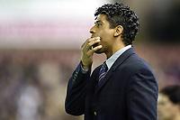 Fotball<br /> Murcia v Barcelona<br /> 14. mars 2004<br /> Foto: Digitalsport<br /> Norway Only<br /> <br /> Frank Rijkaard, trener Barcelona