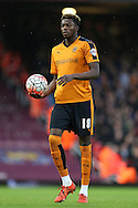 Dominic Iorfa of Wolverhampton Wanderers in action. The Emirates FA cup, 3rd round match, West Ham Utd v Wolverhampton Wanderers at the Boleyn Ground, Upton Park  in London on Saturday 9th January 2016.<br /> pic by John Patrick Fletcher, Andrew Orchard sports photography.