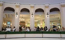 Upmarket Angelina Cafe in Dubai Mall United Arab Emirates