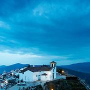 Church at Marvão by dusk