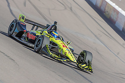 February 9, 2018 - Avondale, Arizona, United States of America - February 09, 2018 - Avondale, Arizona, USA: Sébastien Bourdais (18) takes his IndyCar Verizon car through the turns during the Prix View at ISM Raceway in Avondale, Arizona. (Credit Image: © Walter G Arce Sr Asp Inc/ASP via ZUMA Wire)