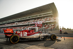 February 21, 2019 - Barcelona Barcelona, Espagne Spain - GIOVINAZZI Antonio (ita), Alfa Romeo Racing C38, action during Formula 1 winter tests from February 18 to 21, 2019 at Barcelona, Spain - Photo  Motorsports: FIA Formula One World Championship 2019, Test in Barcelona, (Credit Image: © Hoch Zwei via ZUMA Wire)