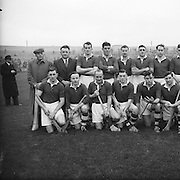 National League GAA Hurling at Croke Park Cork V. Dublin..15.11.1953  15th November 1953.<br />